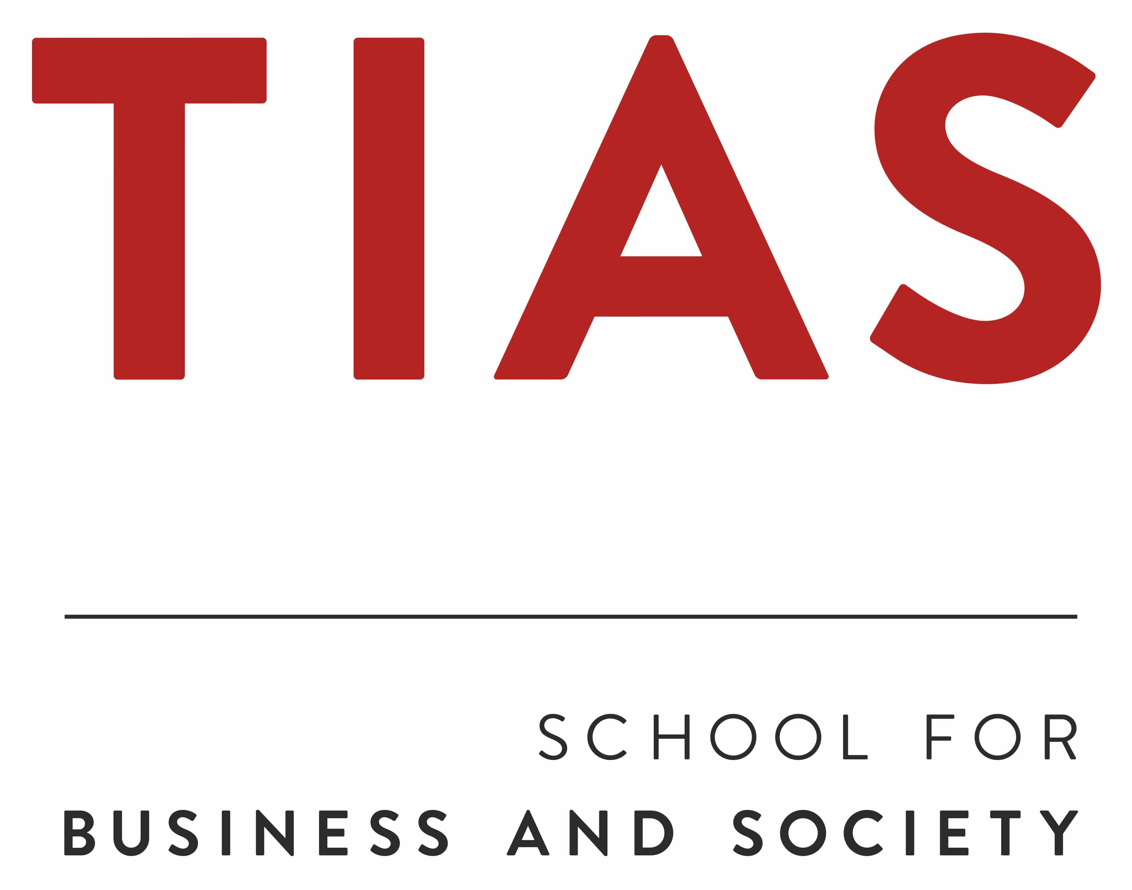 TIAS logo Standaard Rood-Zwart RGB